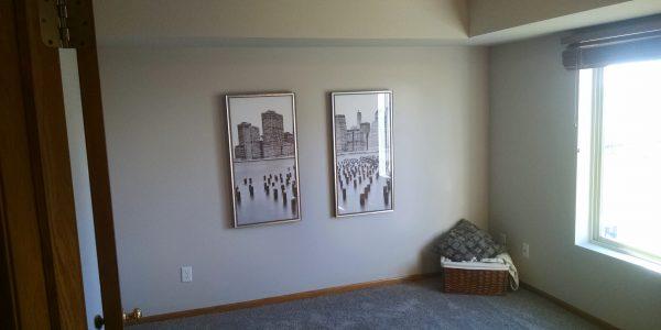 North Liberty condo bedroom